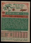 1973 Topps #106  Herm Gilliam  Back Thumbnail