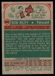 1973 Topps #141  Ron Riley  Back Thumbnail