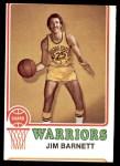 1973 Topps #108  Jim Barnett  Front Thumbnail