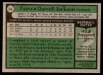1979 Topps #246  Darrell Jackson  Back Thumbnail