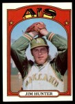 1972 Topps #330  Catfish Hunter  Front Thumbnail
