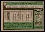 1979 Topps #190  Ron Cey  Back Thumbnail