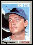 1970 Topps #540  Gary Peters  Front Thumbnail