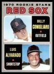 1970 Topps #317   -  Luis Alvarado / Billy Conigliaro Red Sox Rookies Front Thumbnail