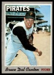 1970 Topps #52  Bruce Dal Canton  Front Thumbnail