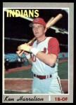 1970 Topps #545  Ken Harrelson  Front Thumbnail