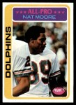 1978 Topps #440  Nat Moore  Front Thumbnail