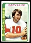 1978 Topps #223  Gary Huff  Front Thumbnail