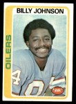 1978 Topps #390  Billy Johnson  Front Thumbnail