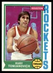 1974 Topps #28  Rudy Tomjanovich  Front Thumbnail
