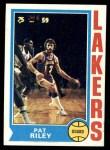 1974 Topps #31  Pat Riley  Front Thumbnail