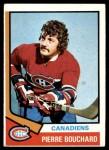 1974 Topps #254  Pierre Bouchard  Front Thumbnail