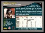 2001 Topps #47  Jimmy Smith  Back Thumbnail