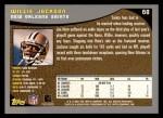 2001 Topps #68  Willie Jackson  Back Thumbnail