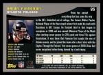 2001 Topps #86  Brian Finneran  Back Thumbnail