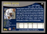 2001 Topps #95  Jerome Pathon  Back Thumbnail