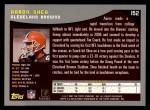 2001 Topps #152  Aaron Shea  Back Thumbnail