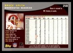 2001 Topps #248  Bruce Smith  Back Thumbnail