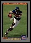 2001 Topps #326  David Terrell  Front Thumbnail