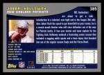 2001 Topps #385  Jabari Holloway  Back Thumbnail