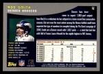 2001 Topps #4  Rod Smith  Back Thumbnail