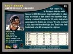 2001 Topps #83  Kyle Brady  Back Thumbnail