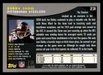 2001 Topps #231  Bobby Shaw  Back Thumbnail