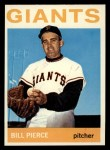 1964 Topps #222  Bill Pierce  Front Thumbnail