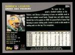 2001 Topps #184  Dorsey Levens  Back Thumbnail