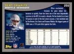 2001 Topps #259  Sean Dawkins  Back Thumbnail