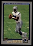2001 Topps #337  Quincy Carter  Front Thumbnail