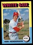 1975 Topps Mini #59  Ken Henderson  Front Thumbnail