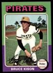 1975 Topps Mini #598  Bruce Kison  Front Thumbnail