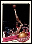1979 Topps #79  Ron Brewer  Front Thumbnail
