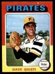 1975 Topps Mini #53  Dave Giusti  Front Thumbnail