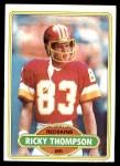 1980 Topps #64  Ricky Thompson  Front Thumbnail