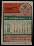 1975 Topps Mini #426  Doc Medich  Back Thumbnail