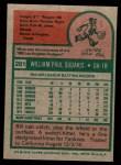 1975 Topps Mini #291  Bill Sudakis  Back Thumbnail