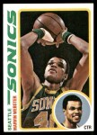 1978 Topps #19  Marvin Webster  Front Thumbnail