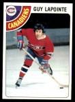 1978 Topps #260  Guy Lapointe  Front Thumbnail