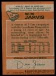 1978 Topps #13  Doug Jarvis  Back Thumbnail