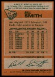 1978 Topps #62  Billy Smith  Back Thumbnail