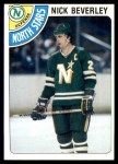 1978 Topps #111  Nick Beverley  Front Thumbnail