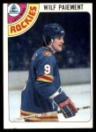 1978 Topps #145  Wilf Paiement  Front Thumbnail