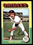 1975 Topps Mini #516  Don Hood  Front Thumbnail