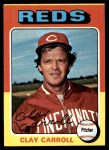 1975 Topps Mini #345  Clay Carroll  Front Thumbnail