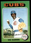1975 Topps Mini #658  Vic Harris  Front Thumbnail