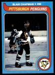 1979 Topps #21  Blair Chapman  Front Thumbnail