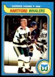 1979 Topps #175  Gordie Howe  Front Thumbnail