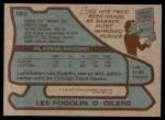 1979 Topps #183  Lee Fogolin  Back Thumbnail